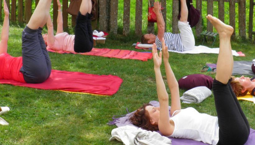 Stage de yoga du 21 au 26 juillet 2019  à Munster (68) «Perception et développement du corps énergétique»