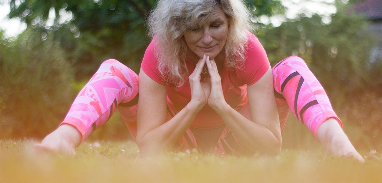 photo de posture yoga