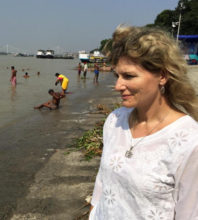 au bord du Gange, automne 2016